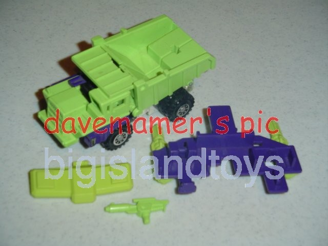Transformers Generation One G1 1985  Constructicon LONG HAUL
