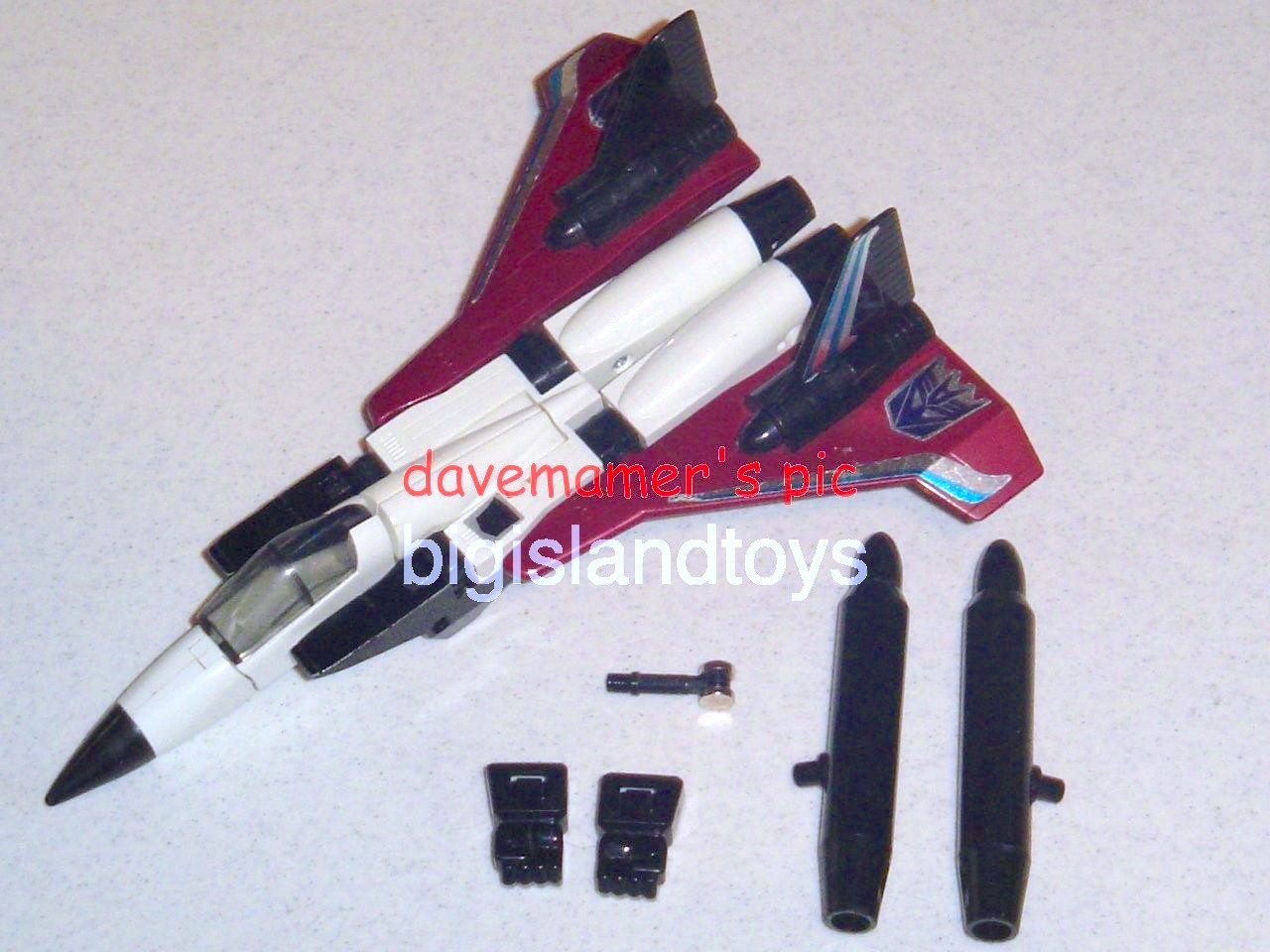 Transformers Generation One G1 1985  Ramjet