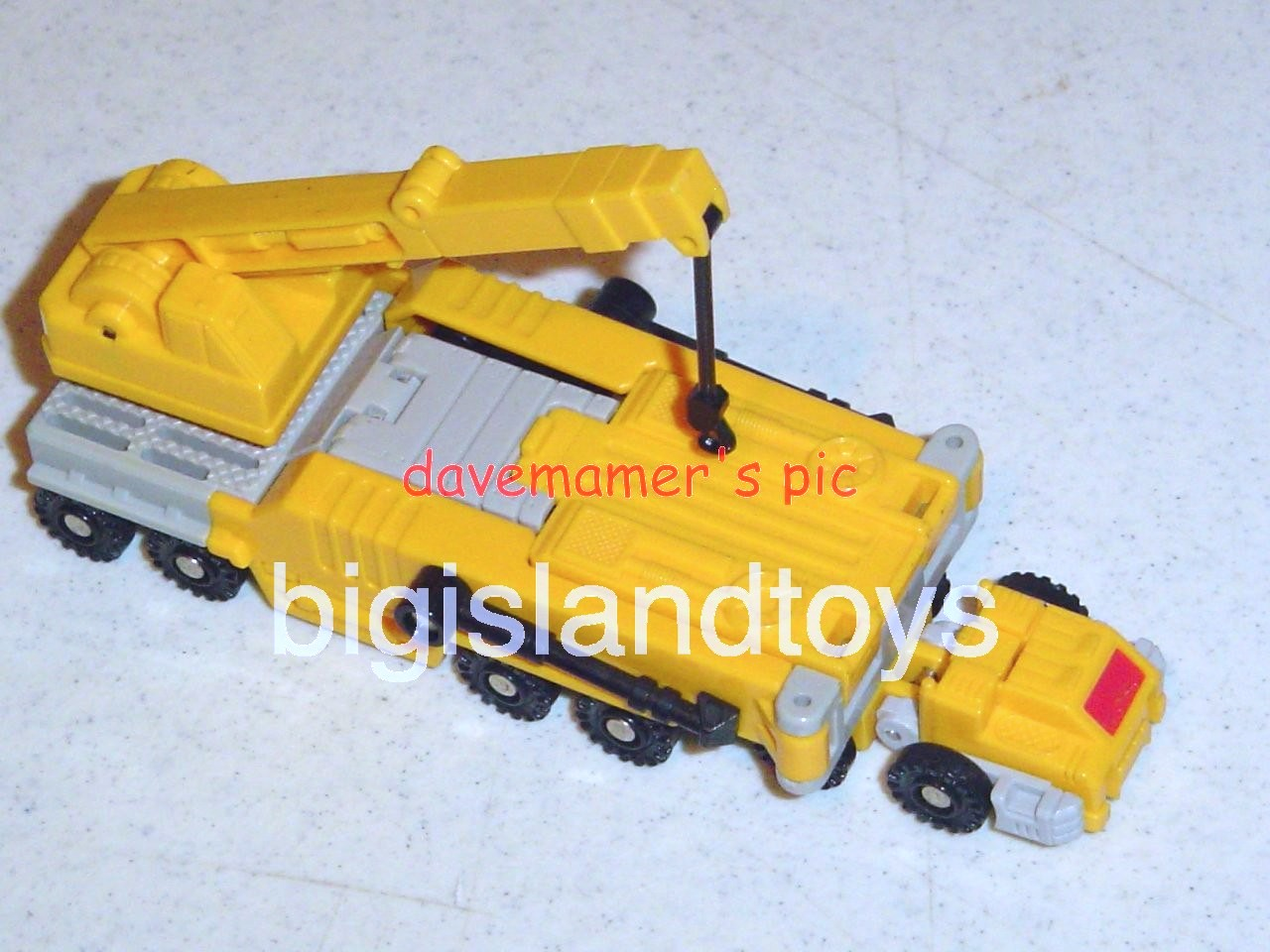 Transformers Generation One G1 1989  Erector Transport