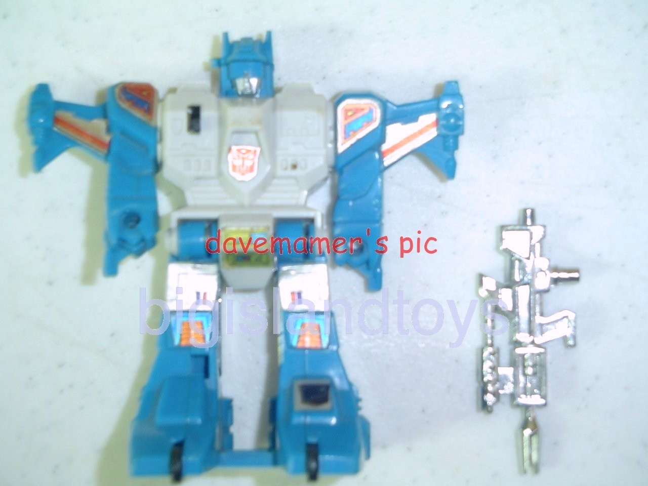 Transformers Generation One G1 1985  Topspin