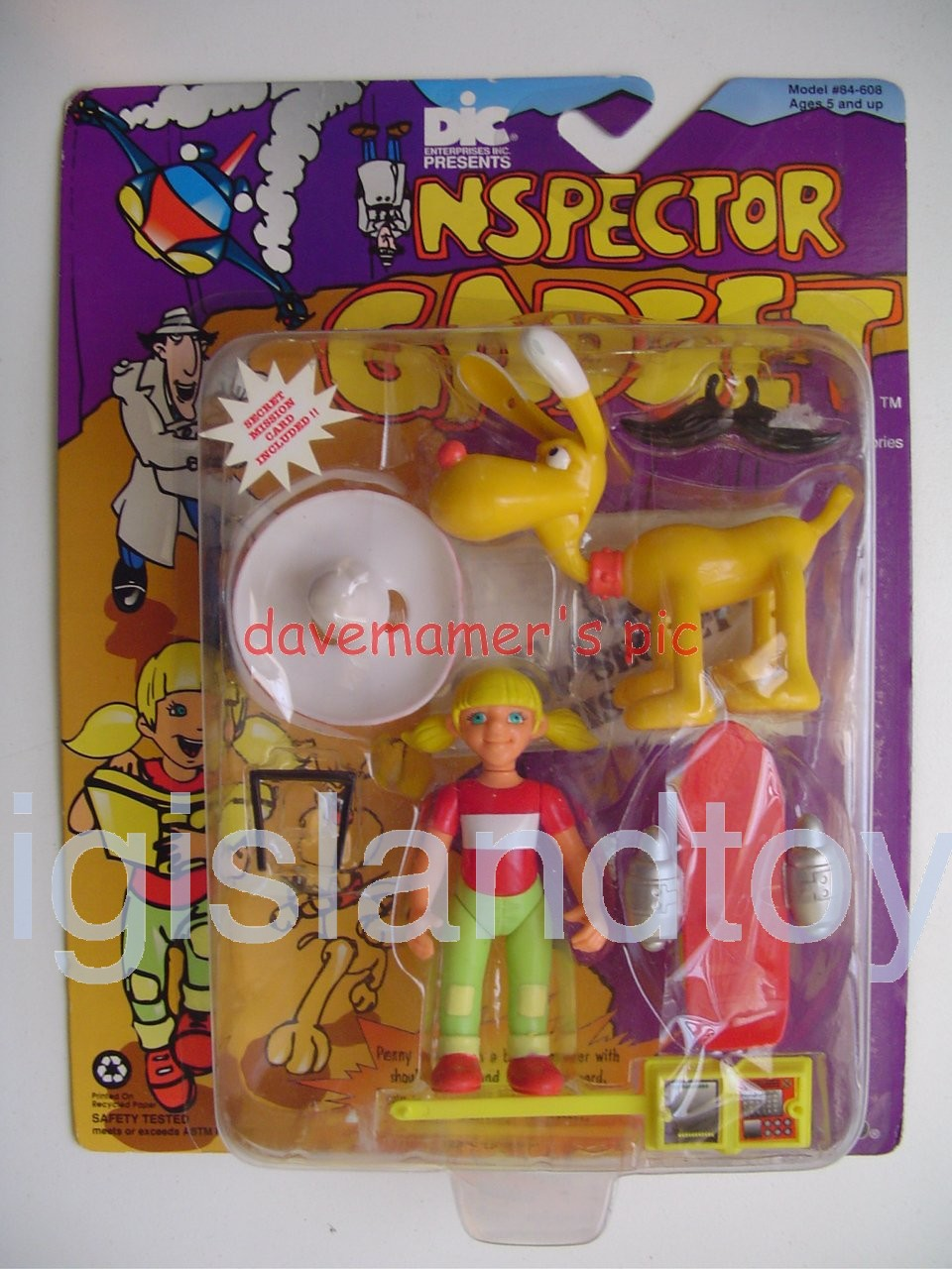 Inspector Gadget    Penny and Brain