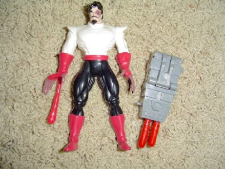 X-Men X-Force Series 5  Black Tom 2nd Version