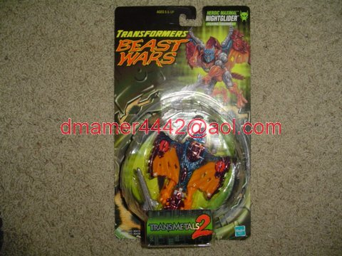 Transformers Beast Wars 1999  Nightglider