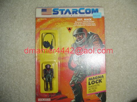 Starcom Shadow Forces Figures   SGT Hack