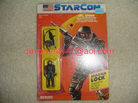 Starcom Shadow Forces Figures   Cpl Storn