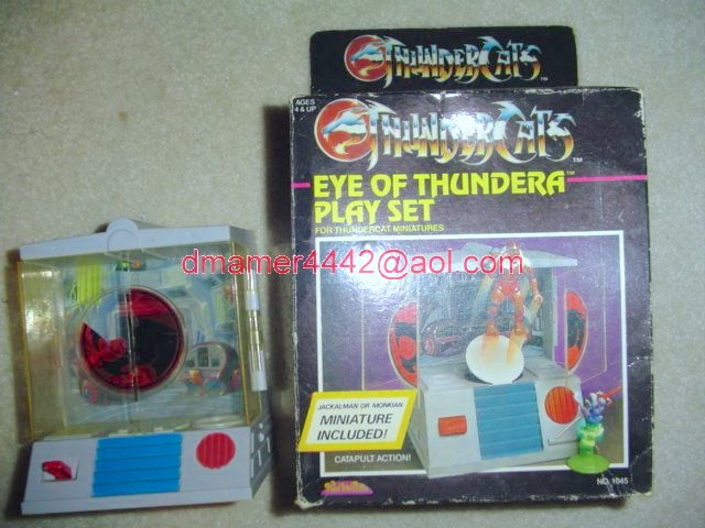 Thundercats Mini Figures   Eye of Thundera Playset