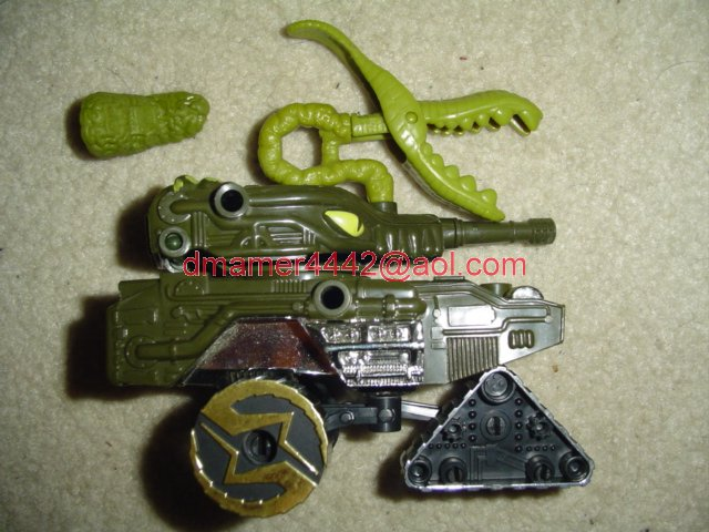 Wheeled Warriors Monster Minds   Terror Tank