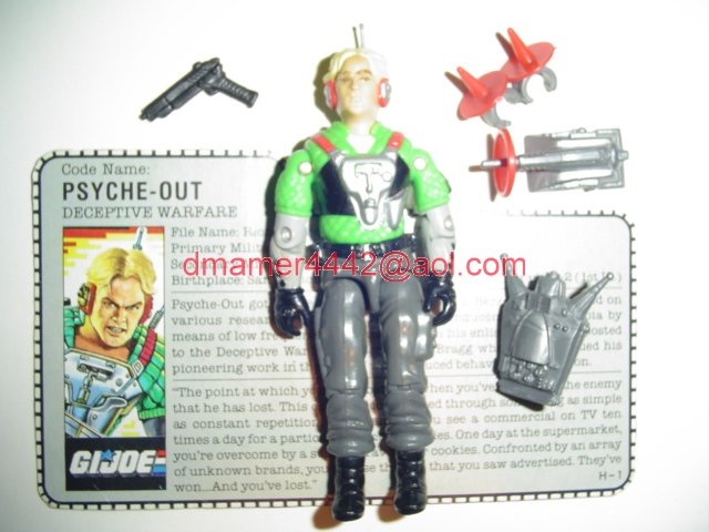 GI Joe 1987 Figures   Psyche-Out