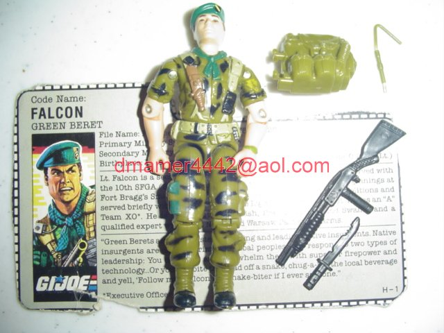 GI Joe 1987 Figures   Falcon