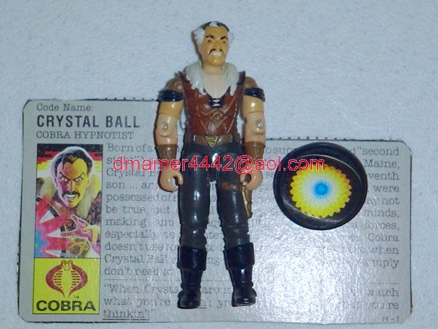 GI Joe 1987 Figures   Crystal Ball