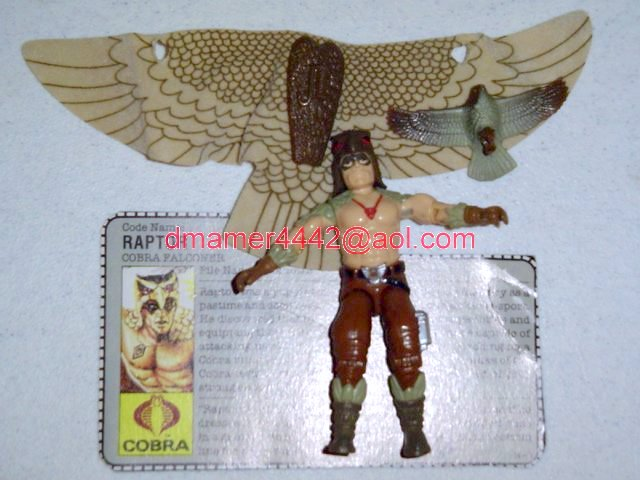 GI Joe 1987 Figures   Raptor
