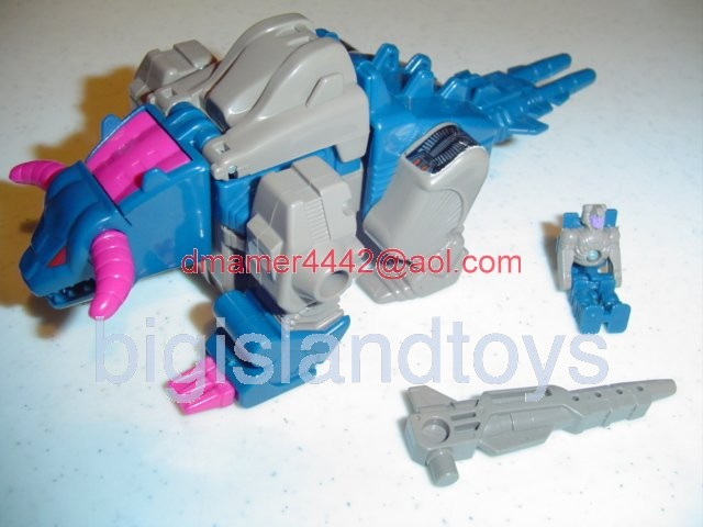Transformers Generation One G1 1988  Horri-Bull with Kreb