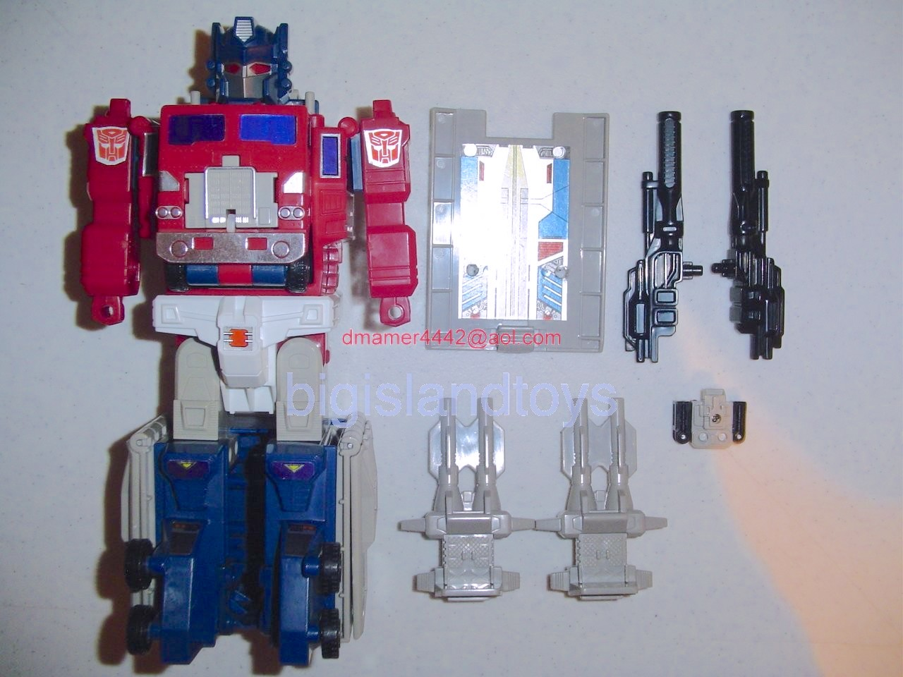 Transformers Generation One G1 1988  Optimus Prime with Hi-Q