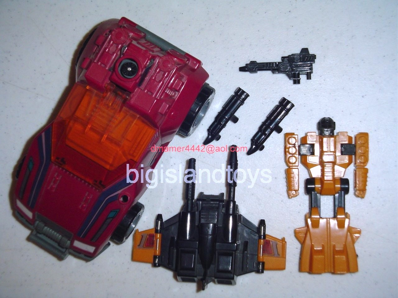 Transformers Generation One G1 1988  Gunrunner
