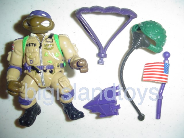 Teenage Mutant Ninja Turtles 1991 Figures       Pro Pilot Don