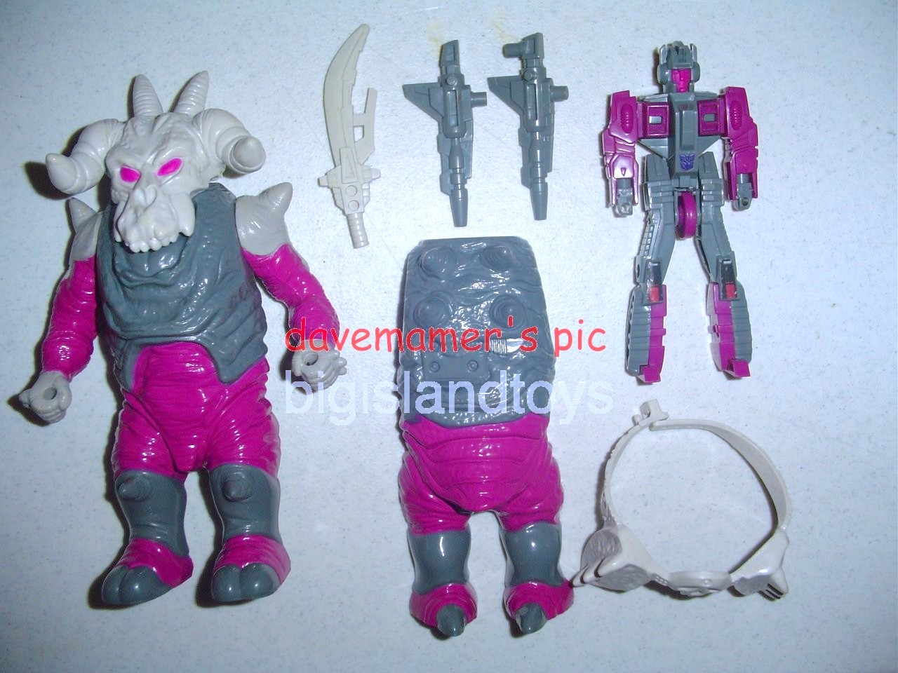Transformers Generation One G1 1988  Skullgrin