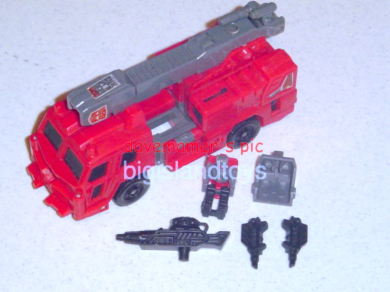 Transformers Generation One G1 1988  Hosehead with Lug