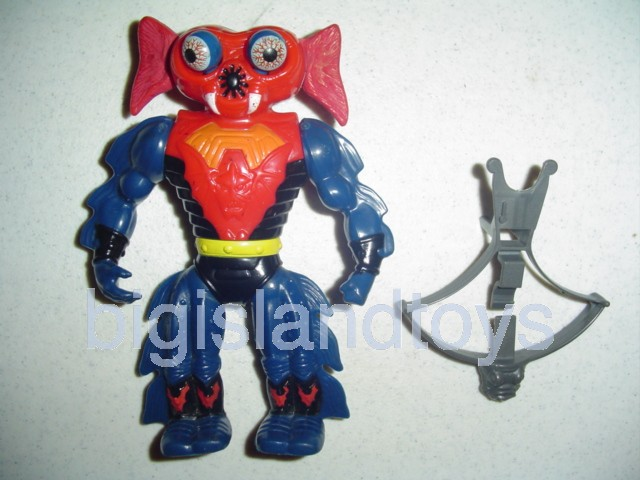 Masters of the Universe Series 4 1985   MantennaRed Lever