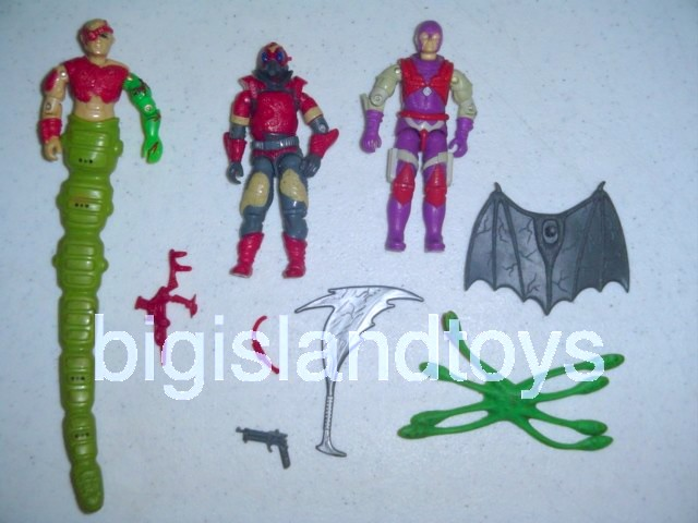 GI Joe 1987 Figures   Cobra-La Team