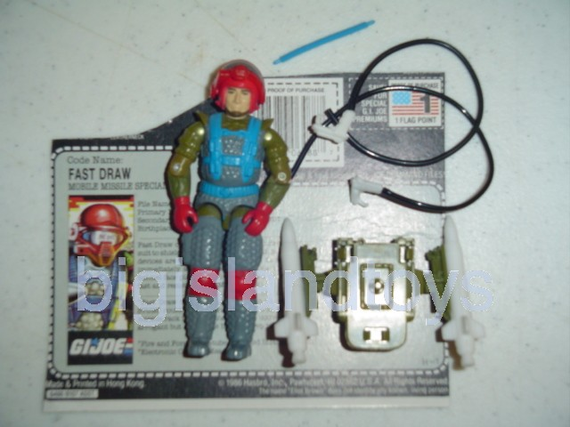 GI Joe 1987 Figures   Fast Draw