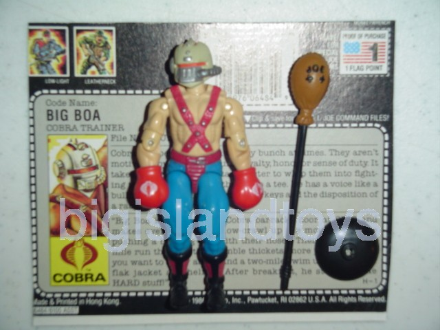 GI Joe 1987 Figures   Big Boa