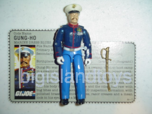 GI Joe 1987 Figures   Gung-Ho Marine Dress