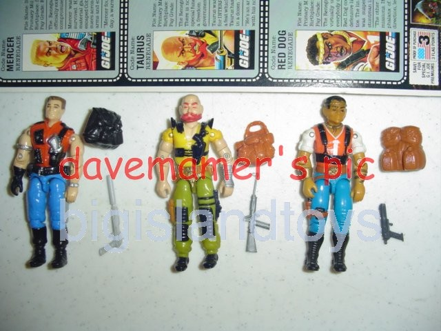 GI Joe 1987 Figures   Sgt. Slaughters Renegades