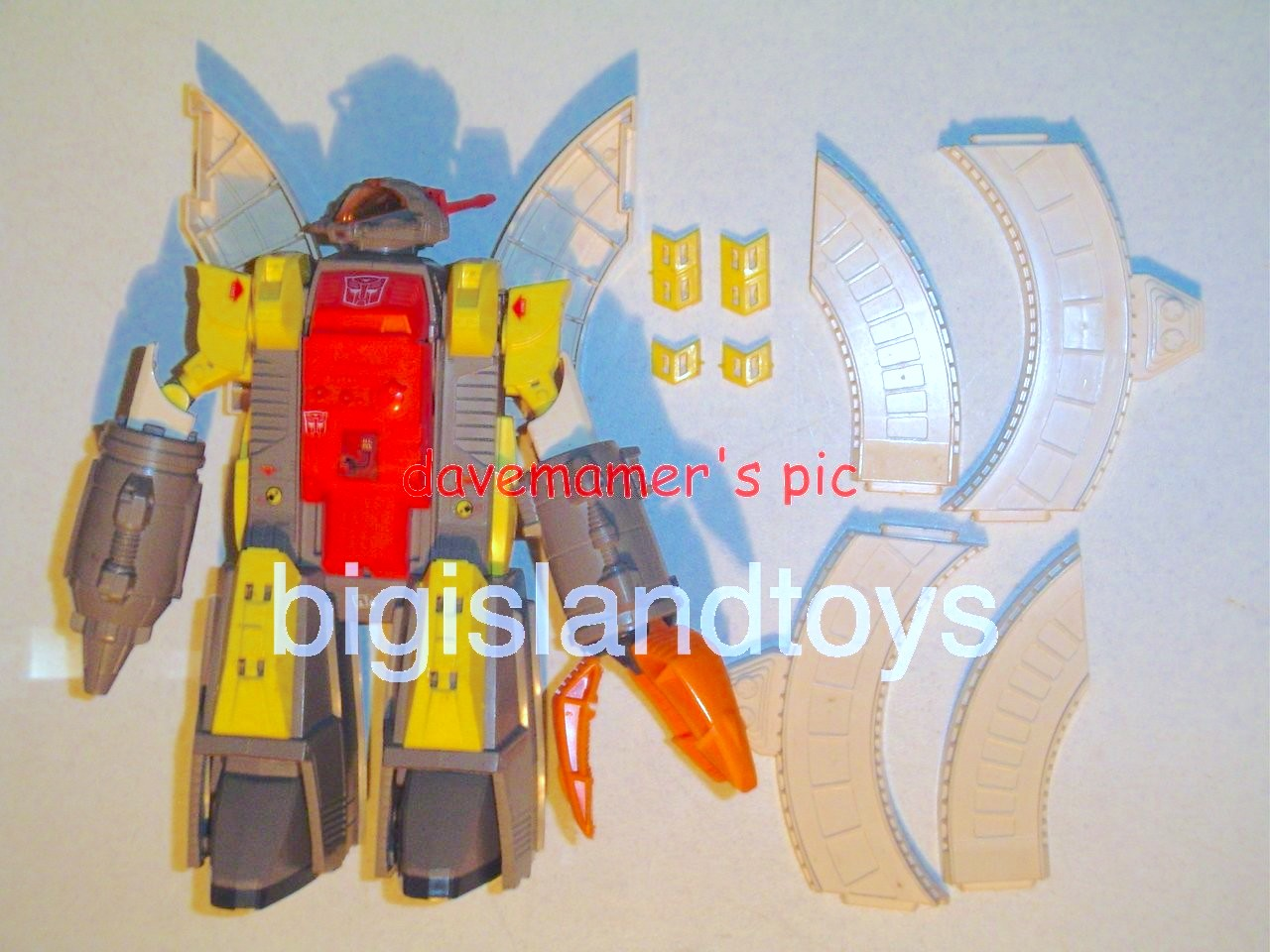 Transformers Generation One G1 1985  Omega Supreme