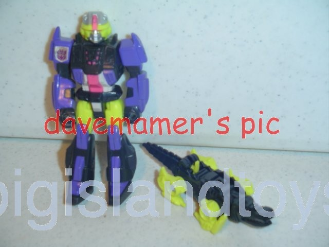 Transformers Generation One G1 1990  Action Masters Krok with Gatoraider