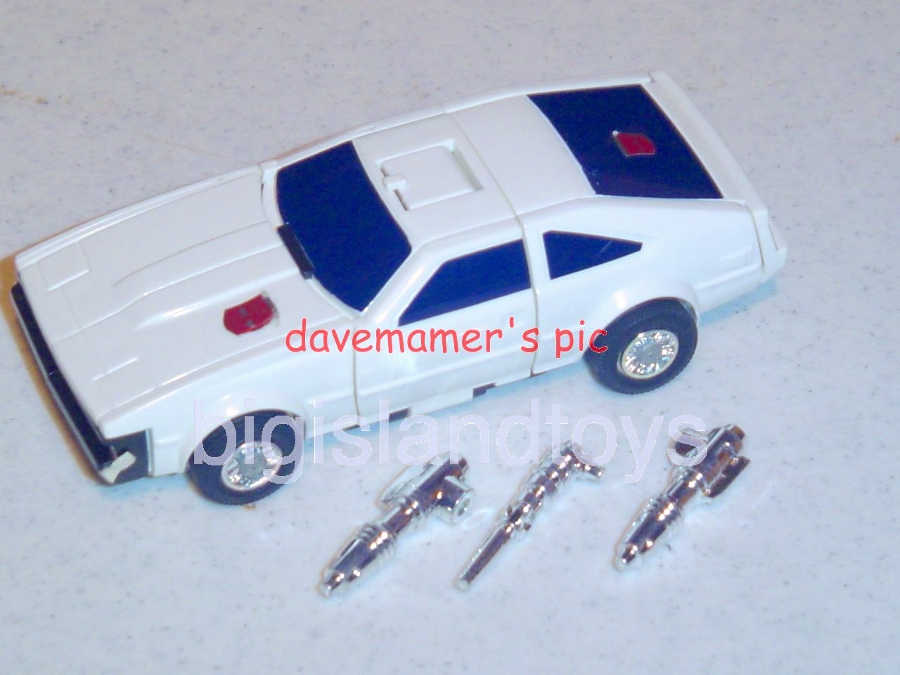 Transformers Generation One G1 1985  DOWNSHIFTMail Away