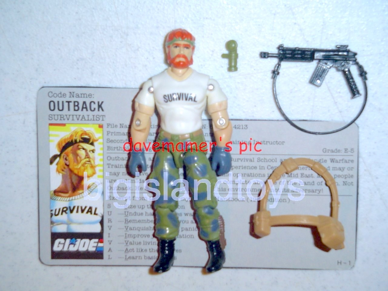 GI Joe 1987 Figures   Outback