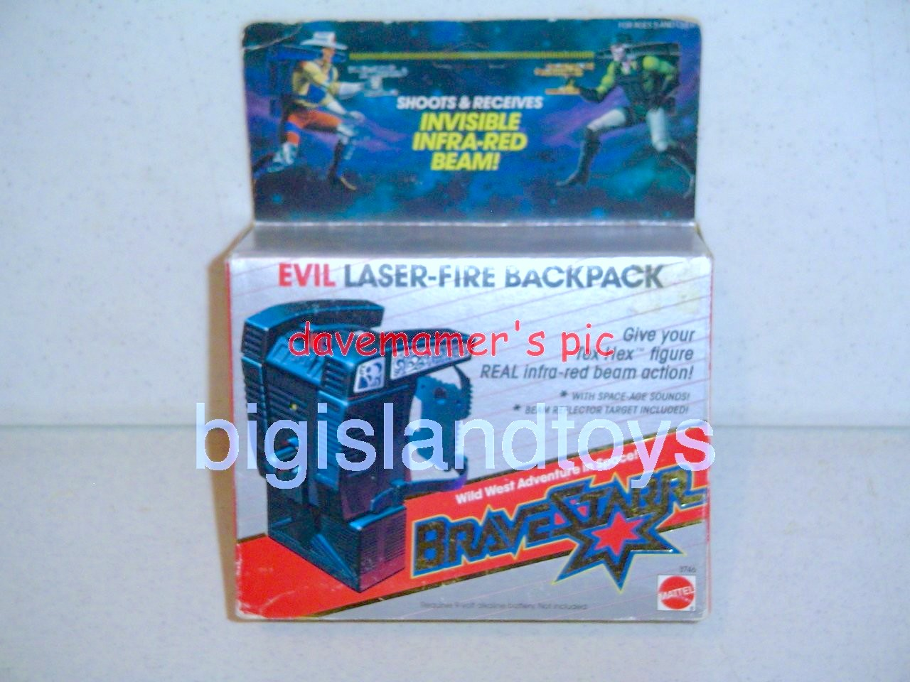 Bravestarr    Laser Fire Backpack