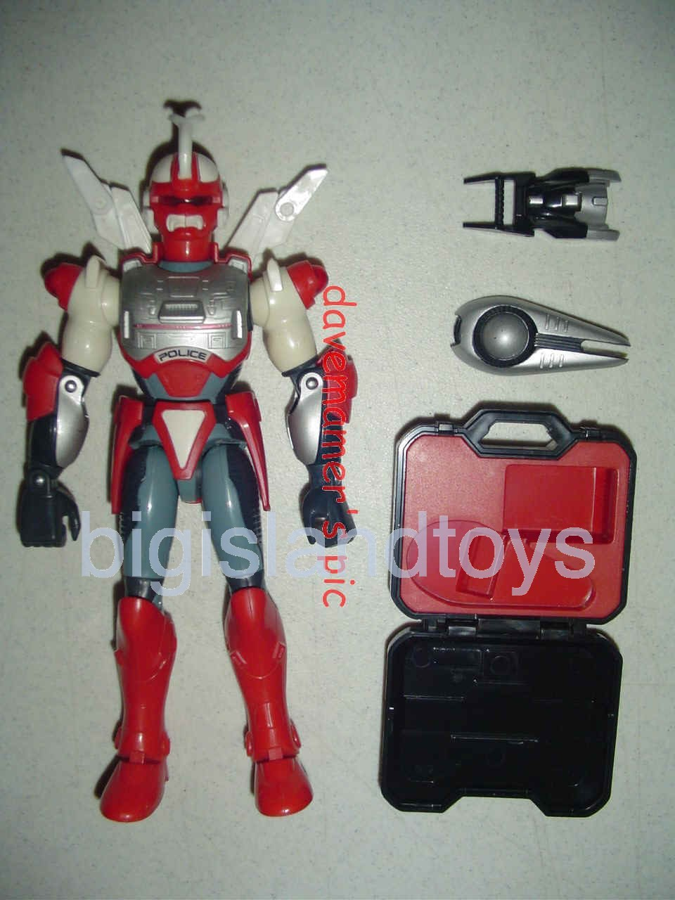 Power Force ZAP - Zero Section Armed Police    Biotron