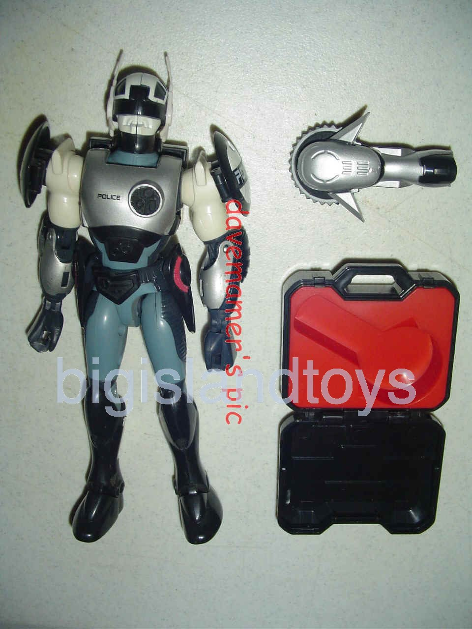 Power Force ZAP - Zero Section Armed Police    Zortron
