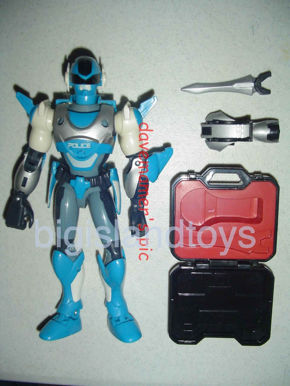 Power Force ZAP - Zero Section Armed Police    Spectron