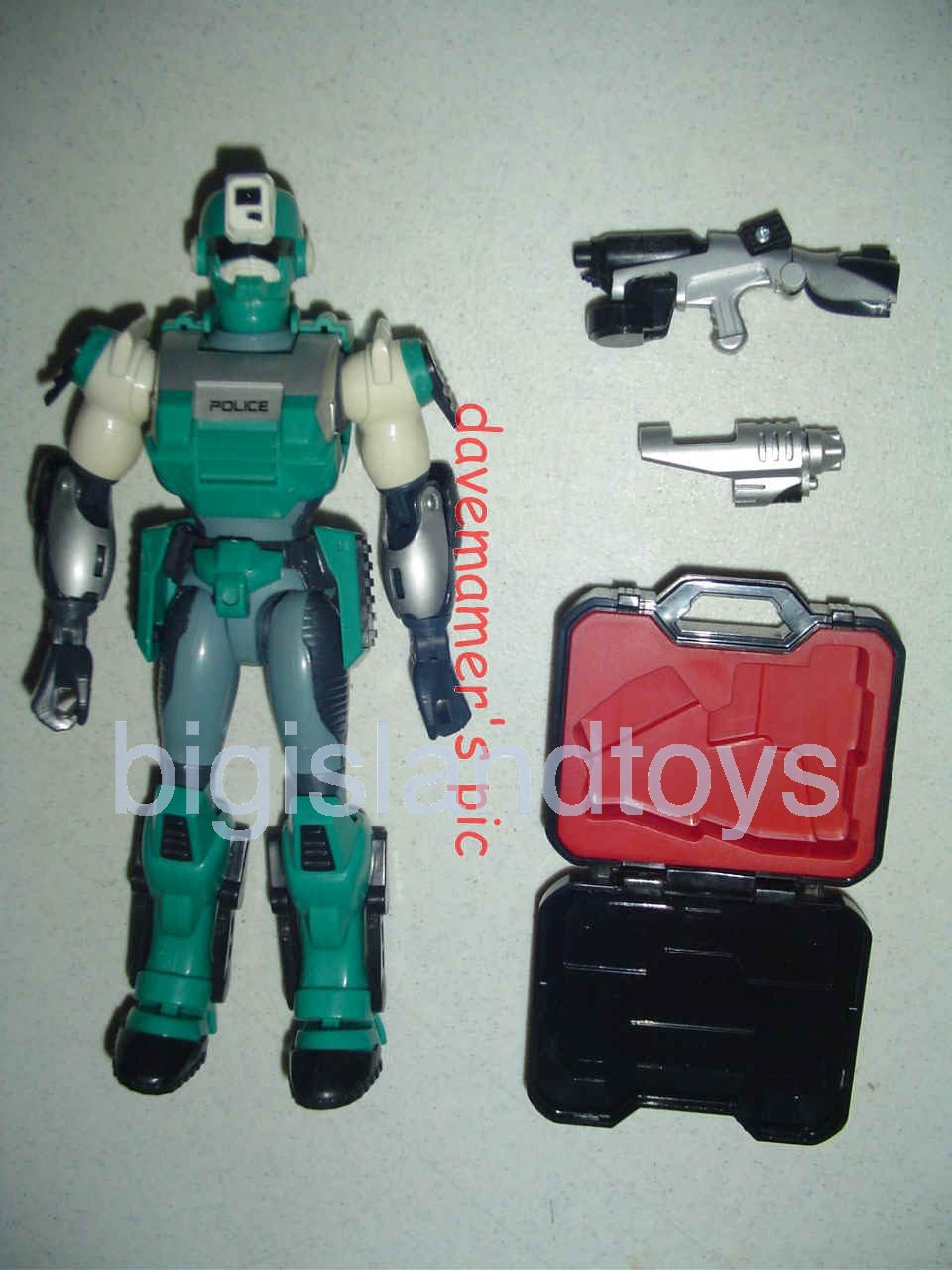 Power Force ZAP - Zero Section Armed Police    Destron