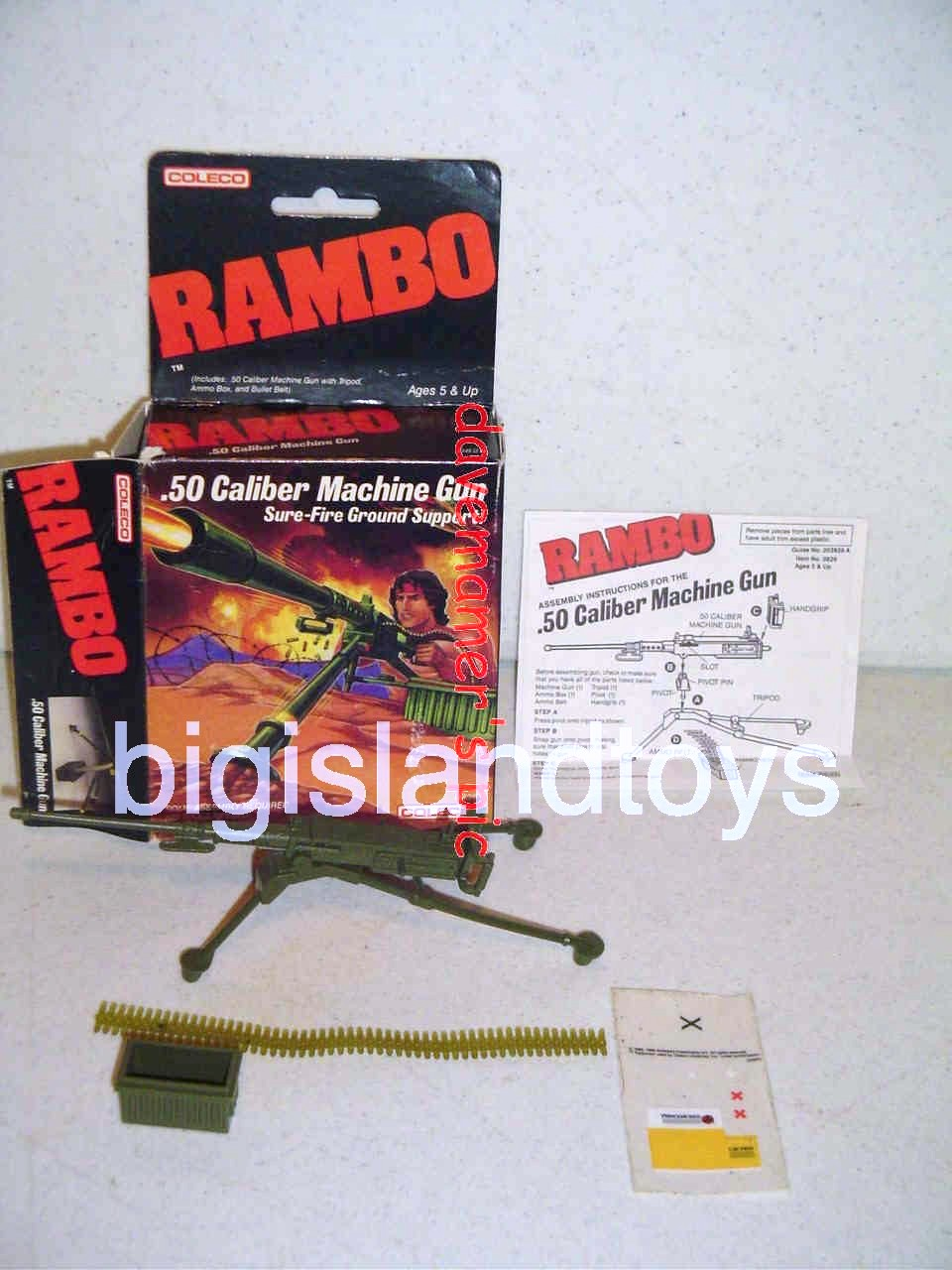 Rambo and the Forces of Freedom    .50 CALIBER MACHINE GUN