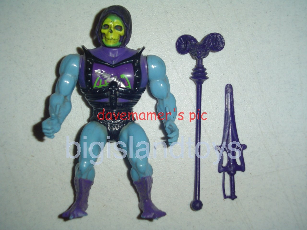 Masters of the Universe Series 3 1984   Battle Armor Skeletor