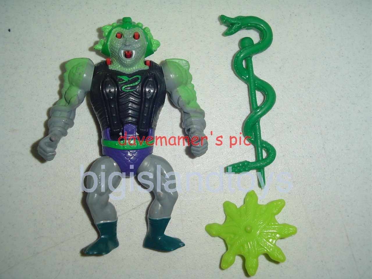Masters of the Universe Series 6 1987   Snake Face