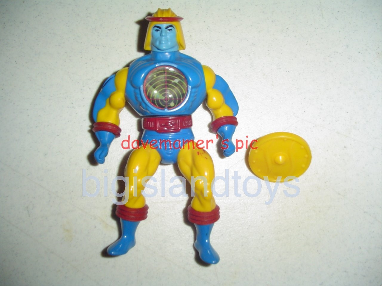 Masters of the Universe Series 4 1985   Sy-Klone