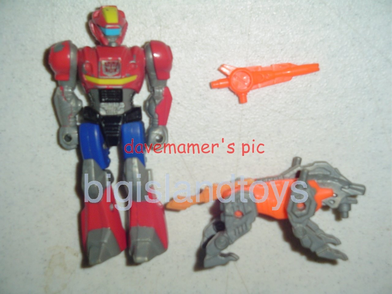 Transformers Generation One G1 1990  Action Masters Rad with Lionizer