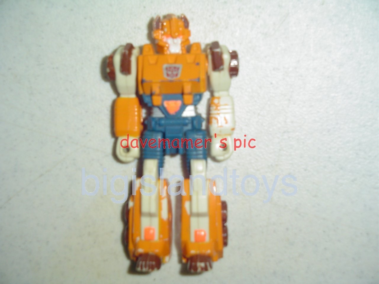 Transformers Generation One G1 1990  Action Masters Rollout with Glitch
