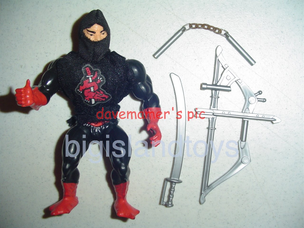 Masters of the Universe Series 6 1987   Ninjor