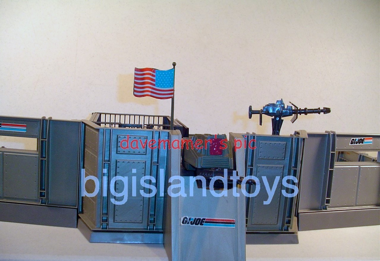 GI Joe 1983 Vehicles & Playsets   Headquarters Command Center [more pics]