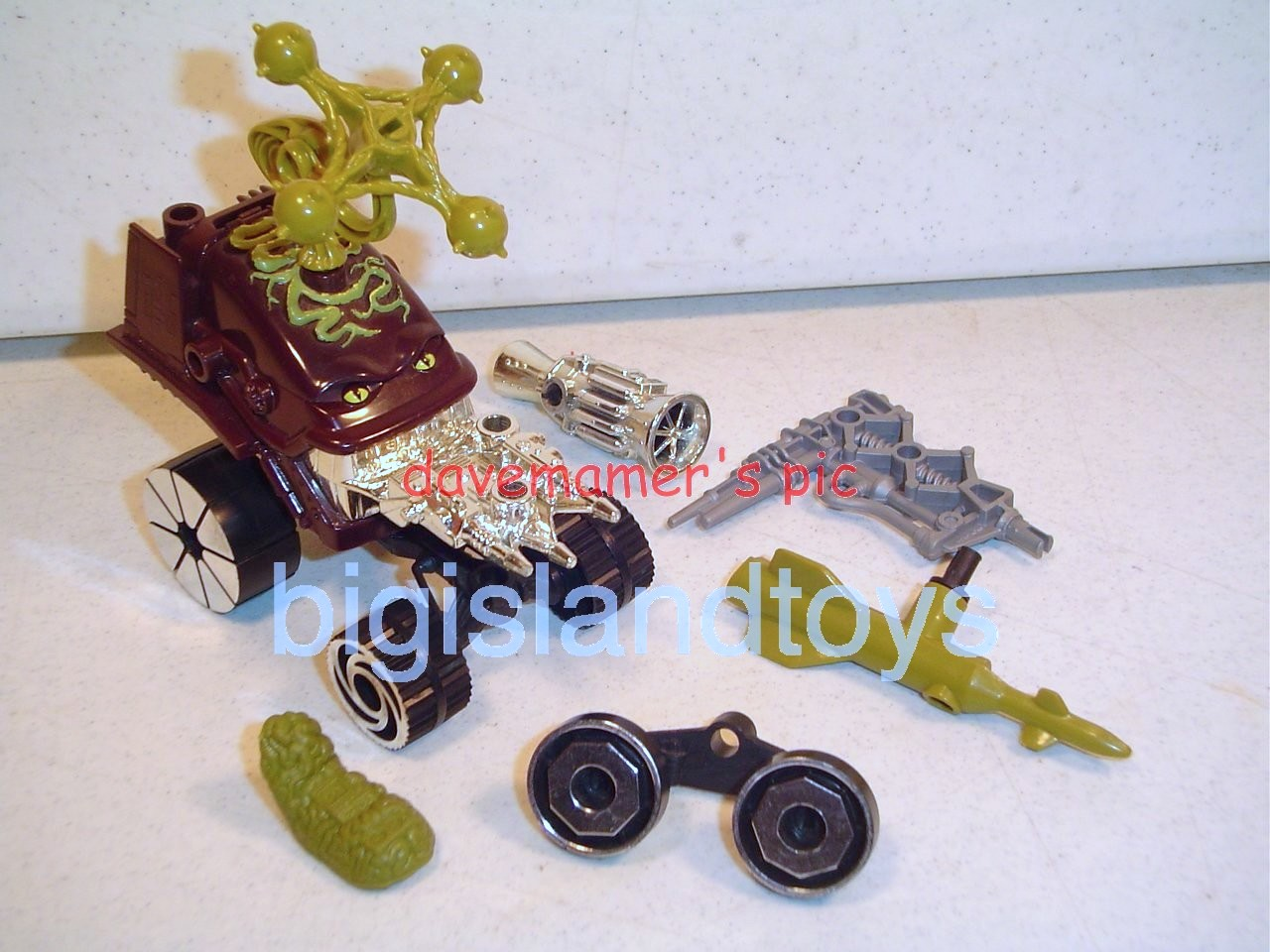 Wheeled Warriors Monster Minds   Gun Grinner