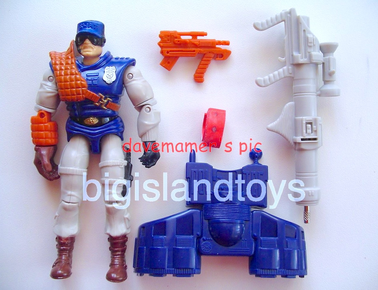 C.O.P.S. and Crooks Series 1   Sgt. Mace