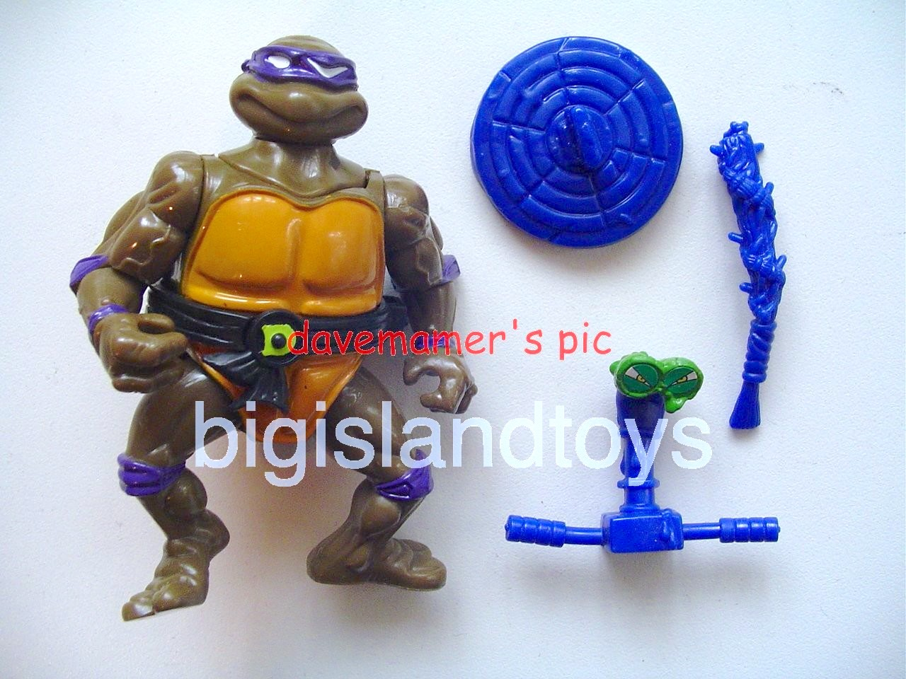 Teenage Mutant Ninja Turtles 1991 Figures   Headdroppin Don