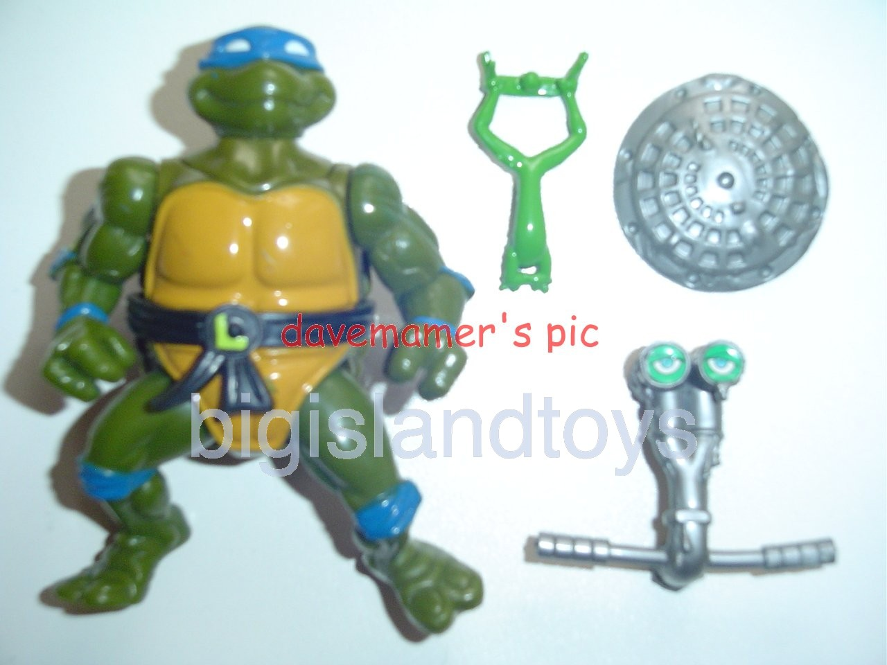 Teenage Mutant Ninja Turtles 1991 Figures       Headdroppin Leo