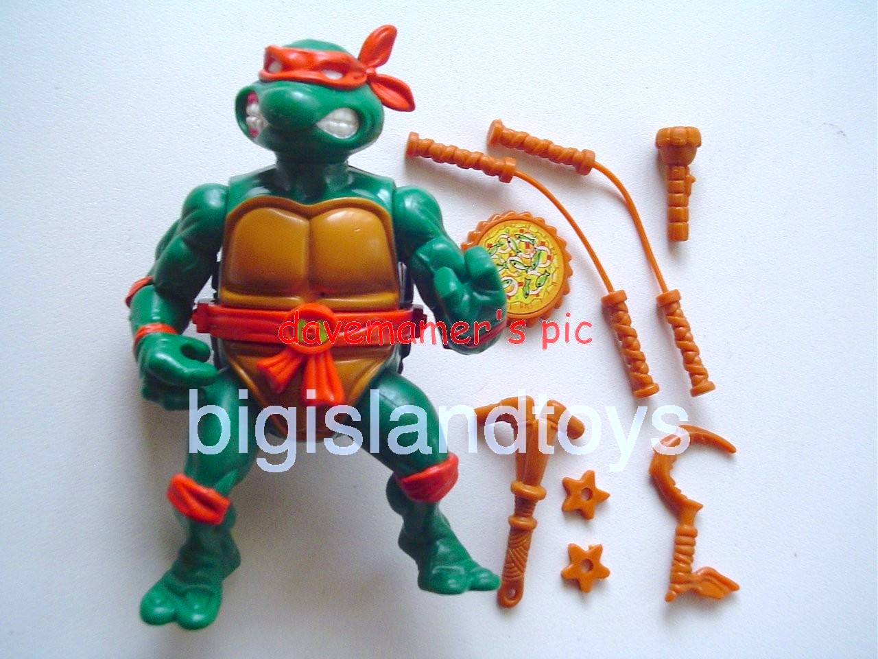 Teenage Mutant Ninja Turtles 1991 Figures       Storage Shell Mike
