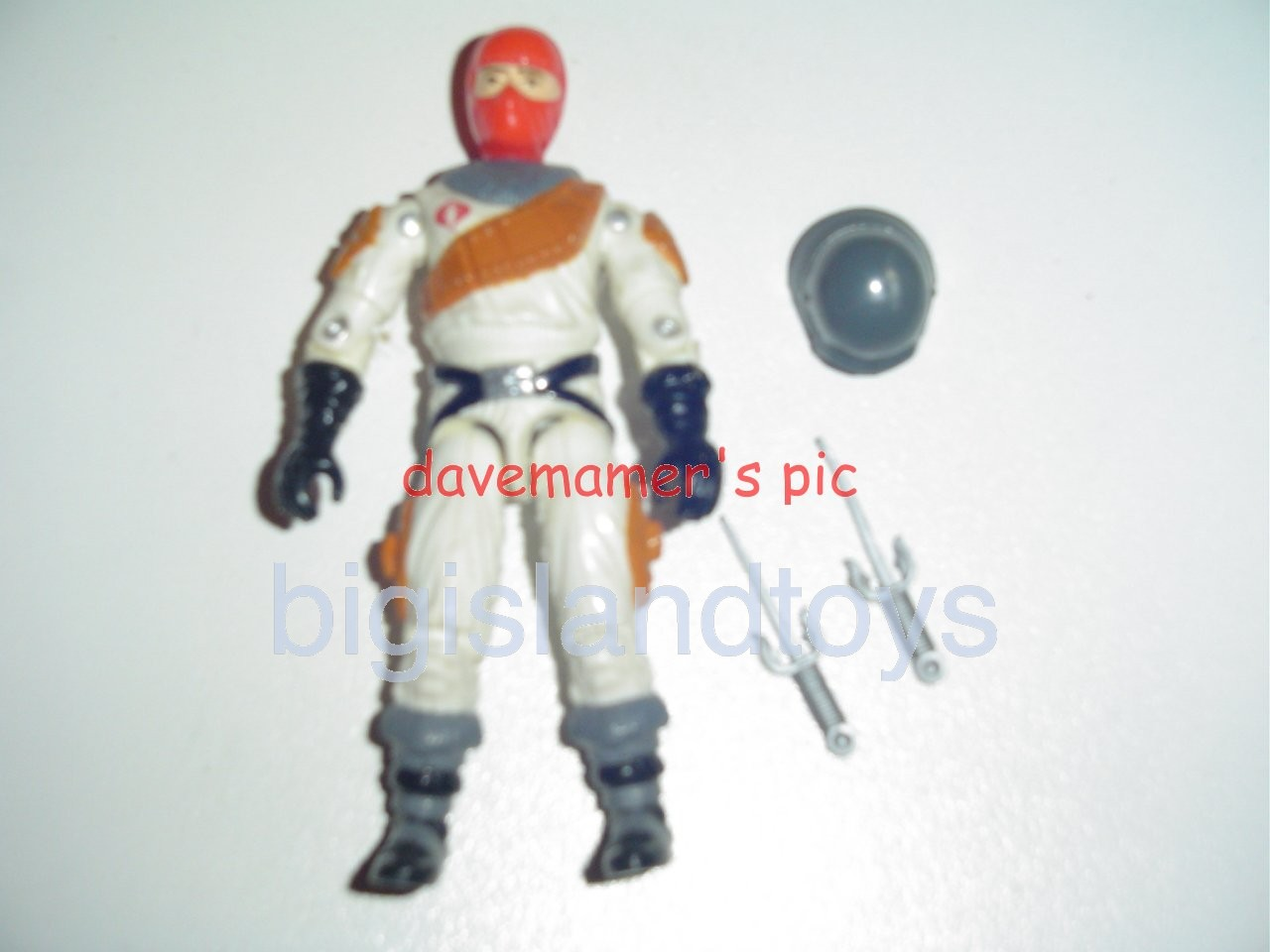 GI Joe 1987 Figures   Ice Viper Cobra Ice Wolf Driver